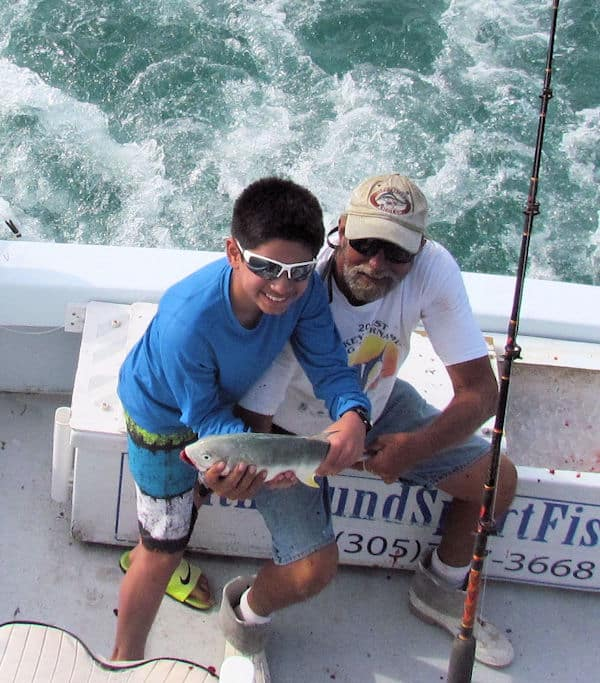 Cravalle Jack released fishing in Key West on the Southbound