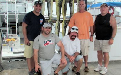 Mahi fishing offshore