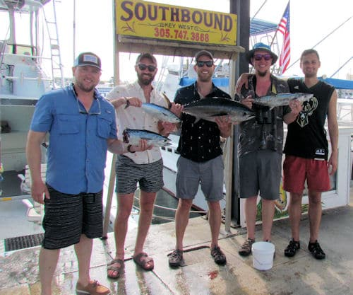 Fish caugth in Key West, Florida fishing with Southbound