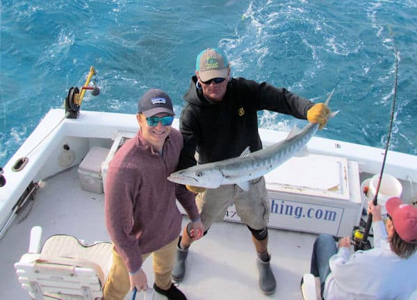 Big Barracuda on light spinning tackle caught and released in Key West