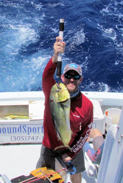 Dolphin caught fishing with Southbound Sportfishing in Key West Florida