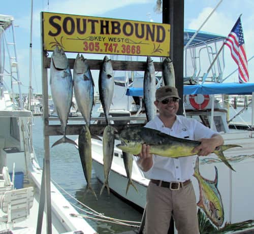 Bull Dolphin caught in Key West fishing with Southbound Sportfishing