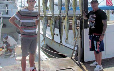 Still fishing and dolpin still biting