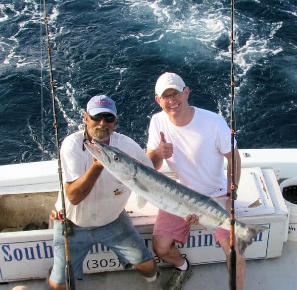 Very big Barracuda caught and released with Southbound sportfishing
