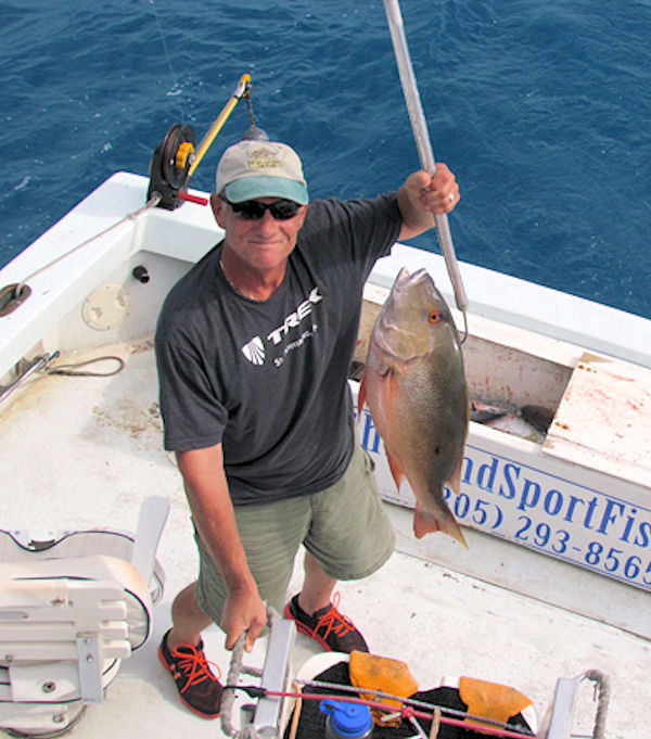 Big Mutton snapper caught in Key West fishing on charter boat Southbound