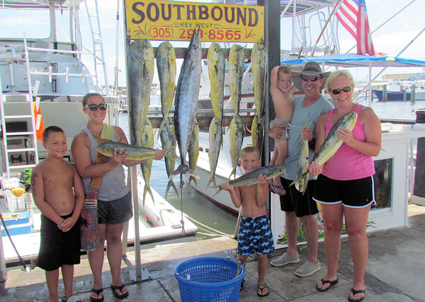 Fish caught in Key West fishing on Key West charter fishing boat Southbound