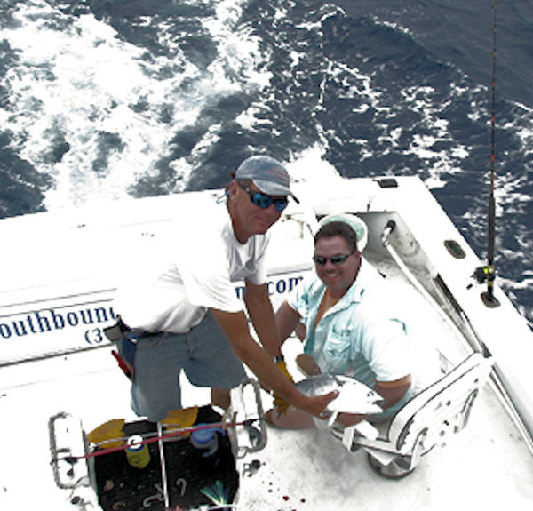 Bonito caught in Key West fishing on charter boat Southbound