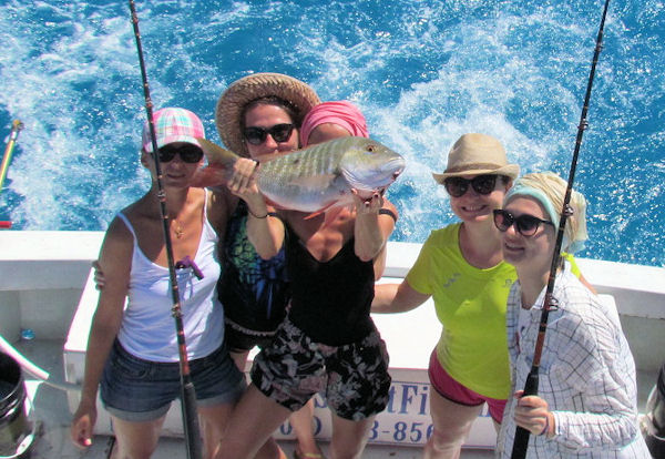 Nice Mutton Snapper caught in Key West fishing on charter boat Soutbound