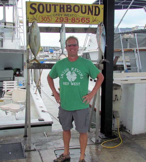 Some reef fish caught in Key West fishing on charter boat Southbound
