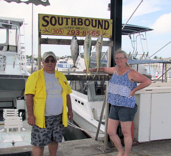 Fish caught in Key West fishing on charter boat Southbound