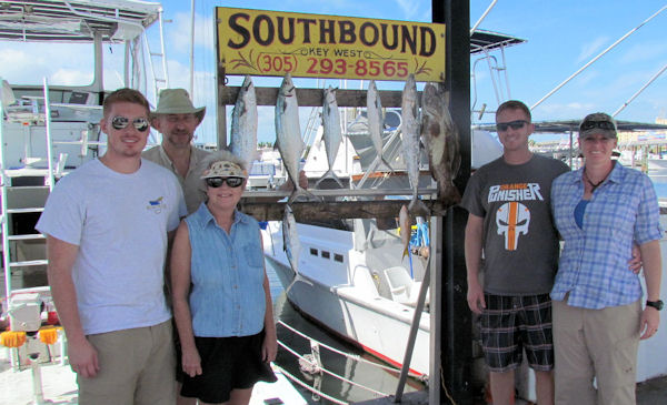 Delicious fish caught  in Key West fishing on charter boat Southbound
