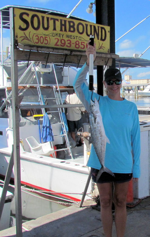 Cero Mackerel caught  in Key West fishing on charter boat Southbound