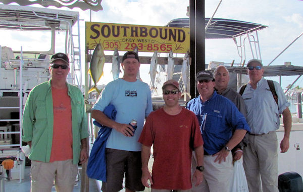 Reef Fish caught  in Key West fishing on charter boat Southbound
