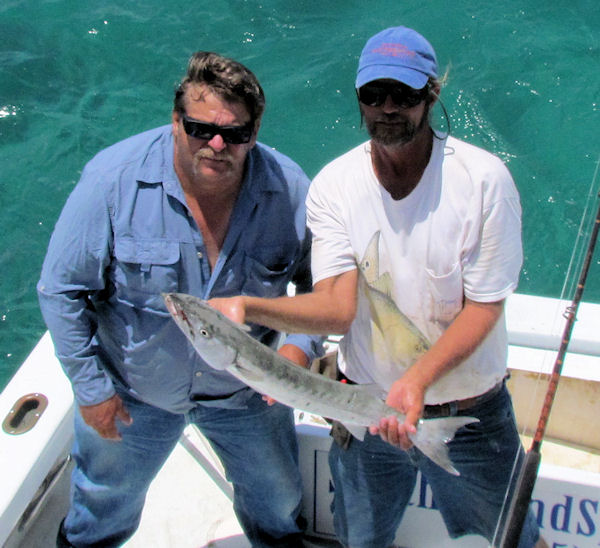 Barracuda caught in Key West fishing on charter boat Southbound from Charter Boat Row