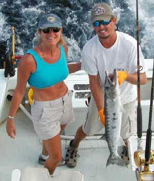 big Cuda caught aboard Southbound in Key West Florida in 2003