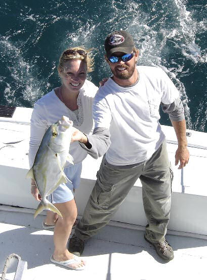 Yellow Jack caught aboard Southbound in Key West Florida in 2005