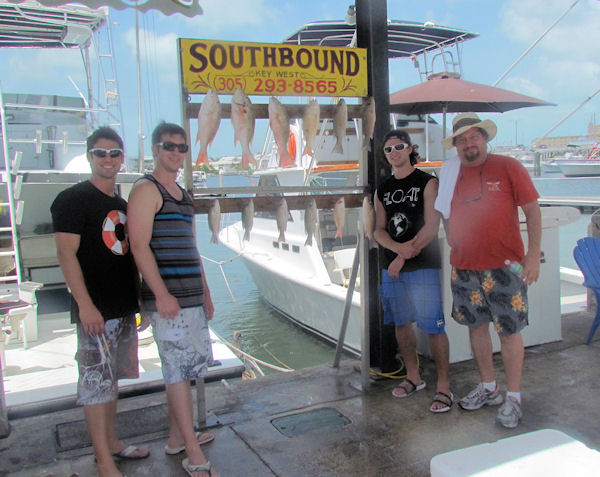 Mutton Snapper caught in Key West fishing on charter boat Southbound from Charter Boat Row