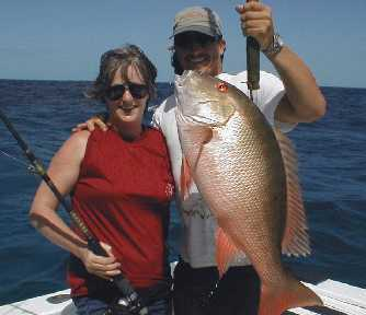Best Mutton caught aboard Southbound in Key West Florida in 2000