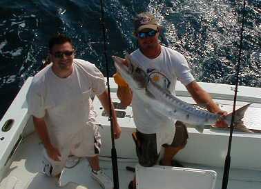 Big Cuda on 30 lb test off Key West