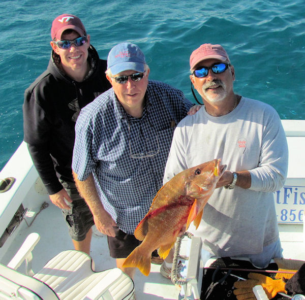 Schoolmaster Snapper caught fishing Key West on charter boat Southbound from Charter Boat Row Key West