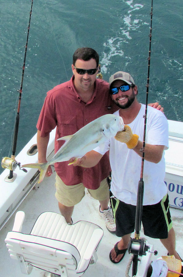 Cravalle Jack caught in Key West fishing on charter boat Southbound from Charter Boat Row, Key West