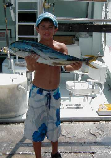 Perfect size fish in Key West, Florida