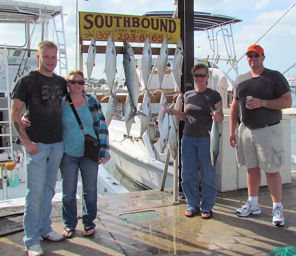 Cero Mackerel caught in Key West fishing on charter boat Southbound from Charter Boat Row, Key West