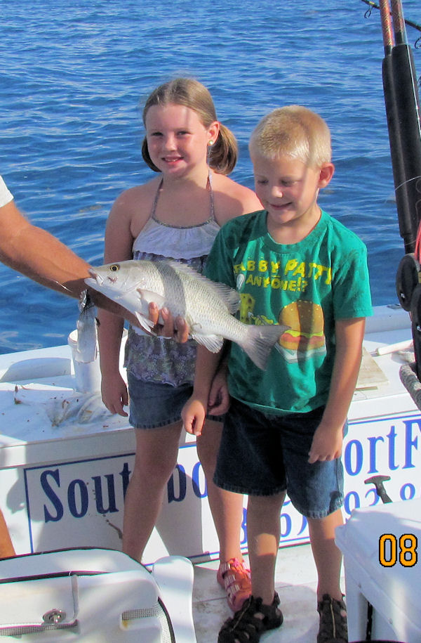 Big Gray Snapper caught in Key West fishing on charter boat Southbound from Charter Boat Row
