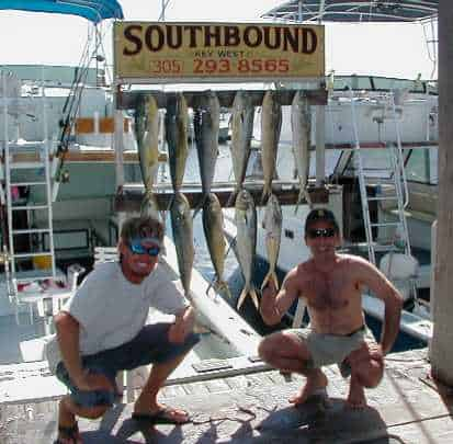 Dolphin fishing in Key West