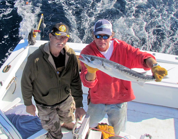 Barracuda caught fishing in Key West on Charter Boat Southbound from Charter Boat Row Key West