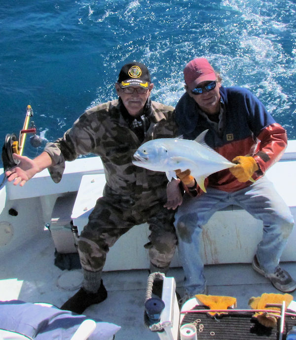 Cravalle Jack caught fishing in Key West on Charter Boat Southbound from Charter Boat Row Key West