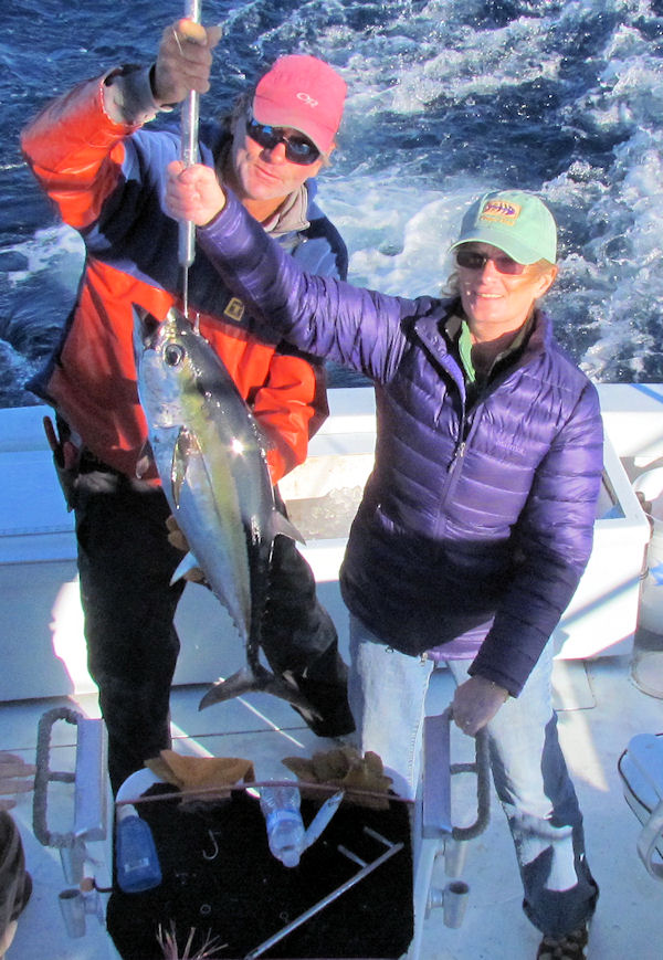 Black Fin Tuna caught fishing in Key West on Charter Boat Southbound from Charter Boat Row Key West