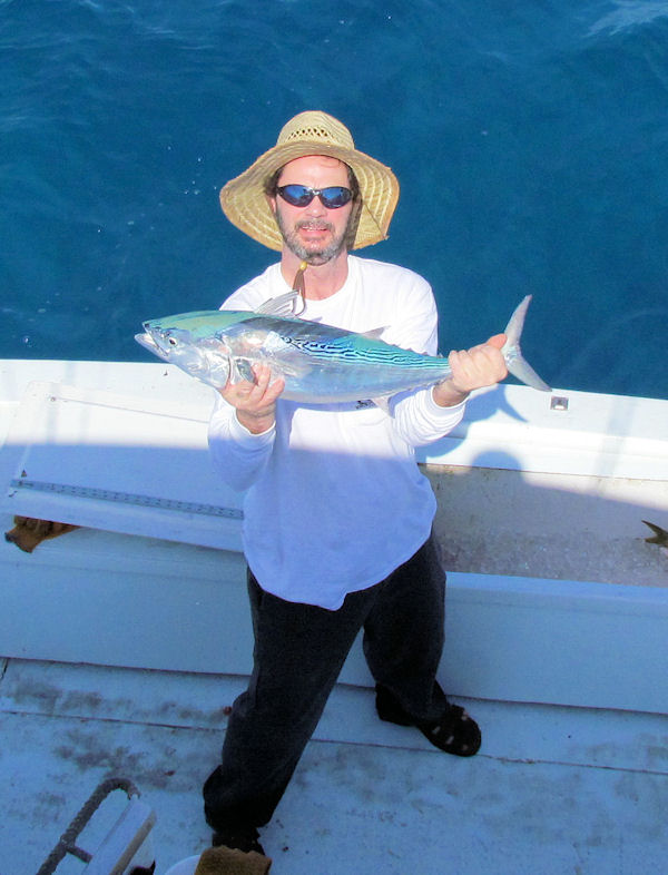 Bonito caugth in Key West fishing on charter boat Southbound from Charter Boat Row Key West
