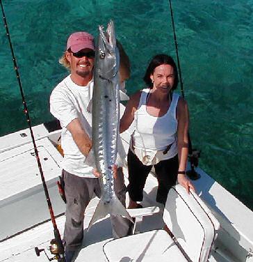 Big Cuda caught aboard Southbound in Key West Florida in 2005