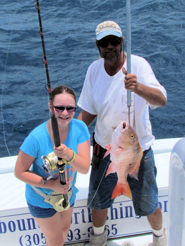 Mutton caught in Key West fishing on charter boat Southbound from Charter Boat Row