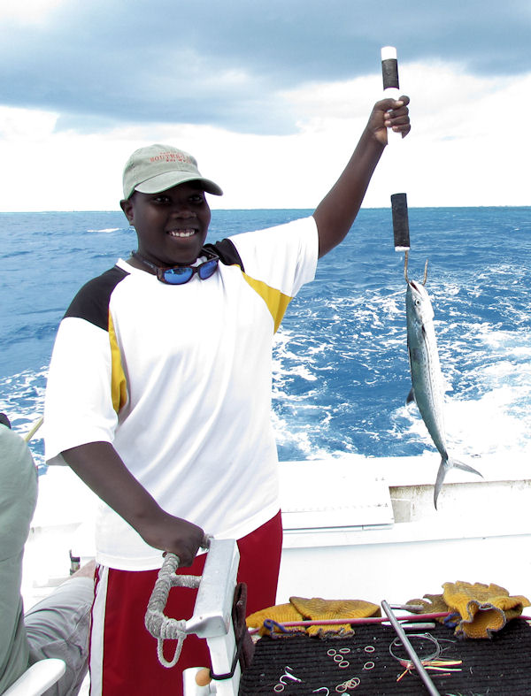 Cero Mackerell caught fishing in Key West on Charter Boat Southbound from Charter Boat Row Key West