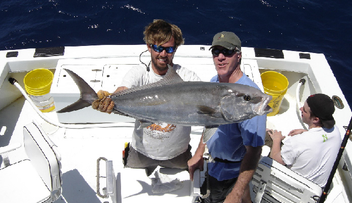 Amberjack caught aboard Southbound in Key West Florida in 2005