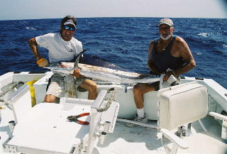 Best Spearfish caught aboard Southbound in Key West Florida in 2003