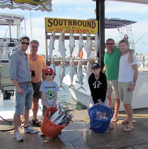 Cero Mackerel caught fishing Key West on charter boat Southbound from Charter Boat Row Key West