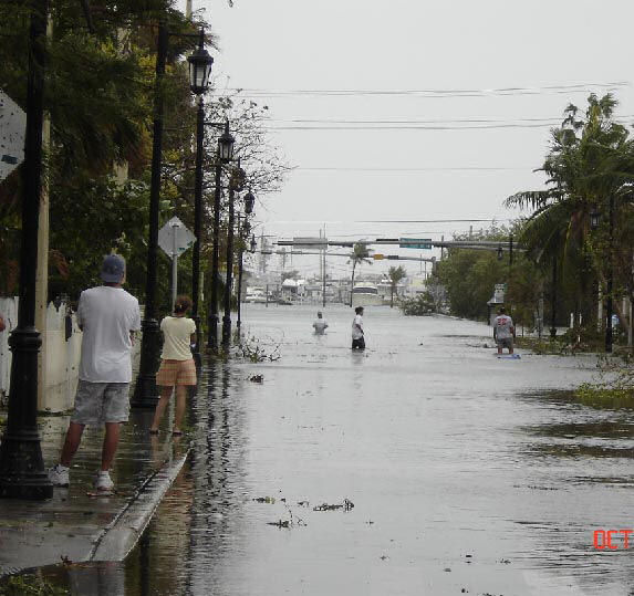 Worst Day For Key West Florida - Hurricane Wilma
