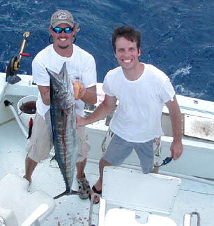 Best Wahoo caught aboard Southbound in Key West Florida in 2003