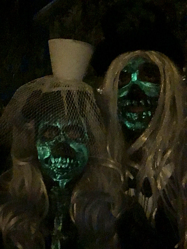 Fantesy Fest Zombies when not fishing on The Charterboat Southbound in Key West Florida