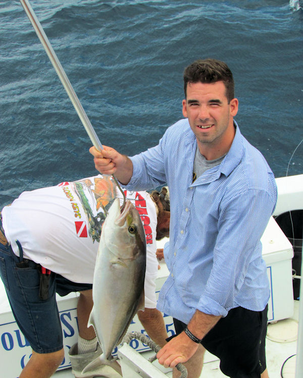 Amberjack caught in Key West fishing on charter boat Southbound from Charter Boat Row