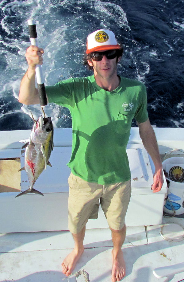 Black Fin Tuna caugth in Key West fishing on charter boat Southbound from Charter Boat Row Key Wes