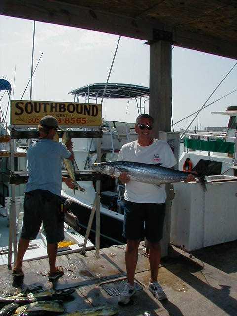 Big kingfish in Key West Florida