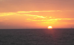 Great Sunset caught aboard Southbound in Key West Florida in 2005