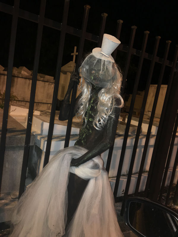 zombie bride in Key West Florida