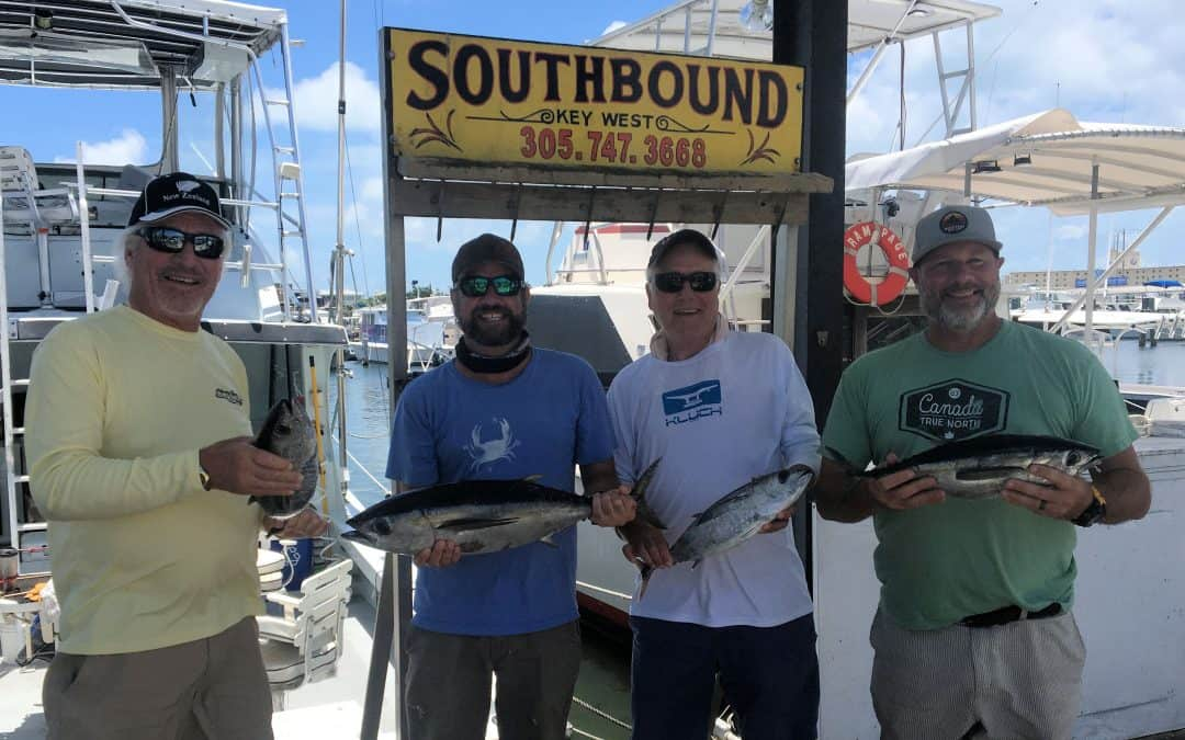 Black Fin Tuna caught in Key West fishing on the Charter Boat Southbound