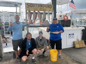 Some delicious Reef fish today caught in Key West Fishing with Southbound Sportfishing