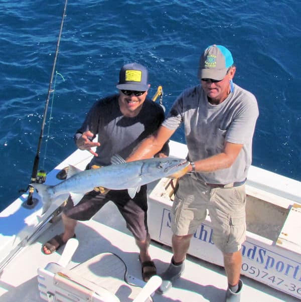 Barracuda caught in Key West on charter fishing trip with Southbound Sportfishing